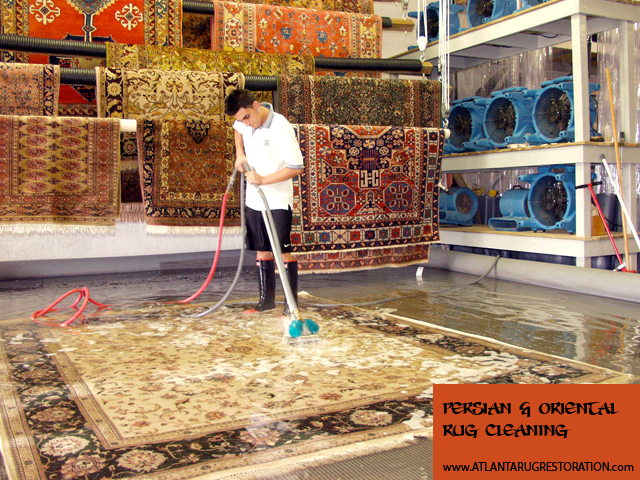 Atlanta Area Professional Rug Cleaning And Restoration Services For New Antique Rugs