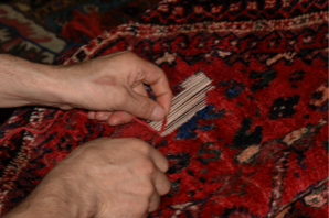 Persian Rug Repair 3 (Shiraz)