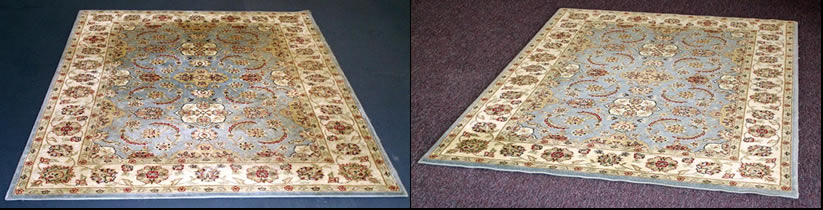 Persian Rug - Before and After Cleaning